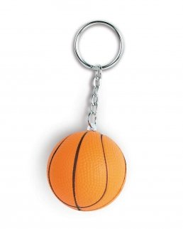 Portachiavi antistress pallina da basket