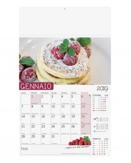Calendario olandese illustrato Dolci