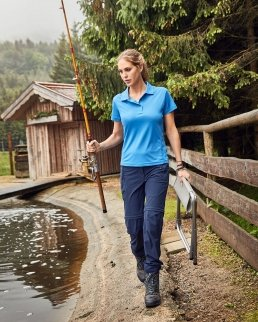 Pantaloni donna da trekking trasformabili