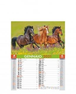 Calendario mensile Cavalli