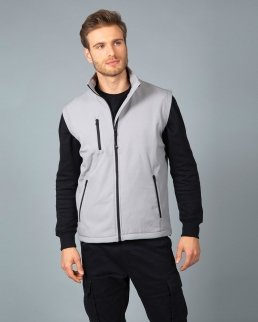 Gilet Tarvisio in soft shell a due strati impermeabile