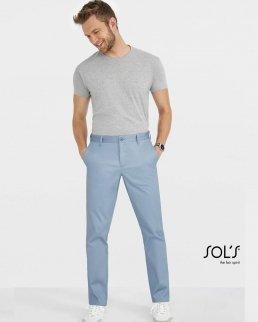Pantalone uomo satinato Jared