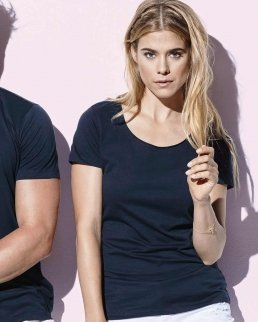 T-shirt donna Finest Cotton