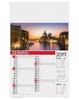 Calendario Città 12 fogli