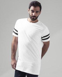 T-shirt con maniche corte a strisce