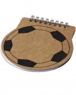 Notebook football score