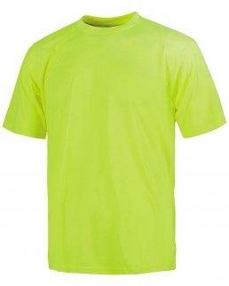 T-shirt girocollo manica corta alta visibilità