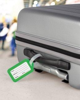 Etichetta valigia Tagly