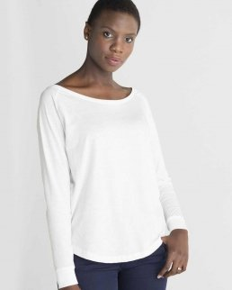 T-shirt Donna maniche lunghe Loose Fit