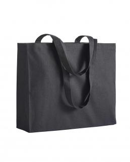 Shopper con manici lunghi e soffietto