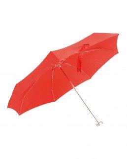Mini ombrello pieghevole con custodia semi-rigida