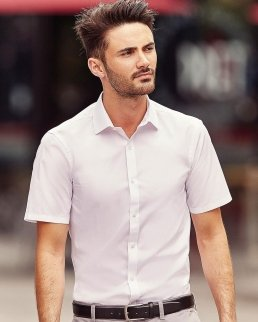 Camicia uomo Stretch mezza manica Ultimate