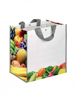 BORSA SHOPPING CON SOFFIETTO FRUITBOX