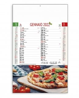 Calendario Pizza