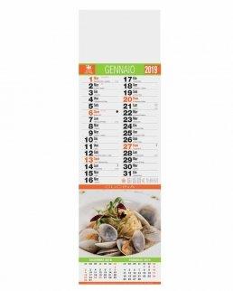 Calendario silhouette Gastronomia 12 fogli