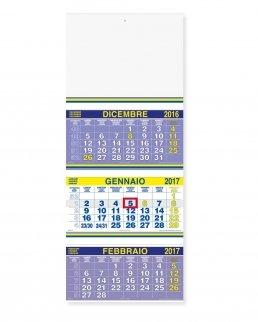 Calendario Trittico Trimestrale