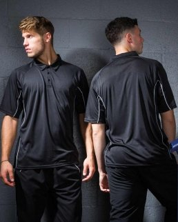 Performance wicking Polo