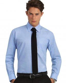 Camicia uomo maniche lunghe Oxford