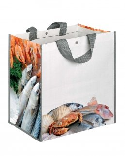 BORSA SHOPPING CON SOFFIETTO FISHBOX
