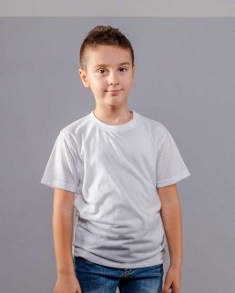 T-shirt bambino evolution Cotton Touch