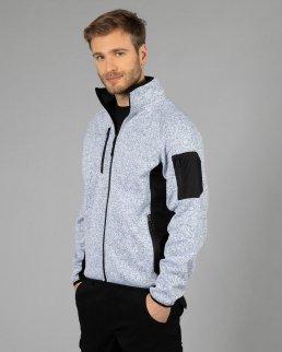 Knitted fleece Monviso Man