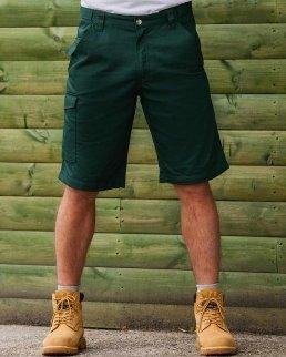 Shorts da lavoro in twill