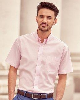 Camicia uomo Oxford maniche corte