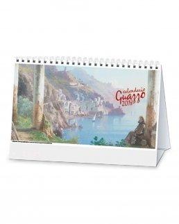 Calendario trimestrale da tavolo Guazzo