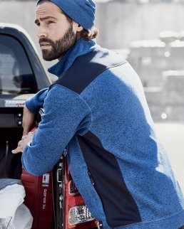 Giacca Knitted Workwear Fleece - Uomo