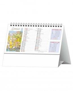 Calendario da tavolo Napoli Antica Trimensile 12 fogli