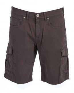 Pantalone corto multitasche elasticizzato