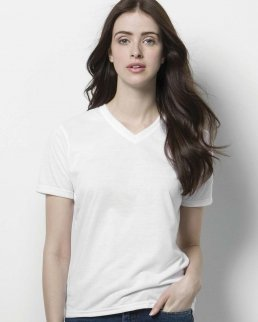 T-shirt donna Subli Plus con scollo a V