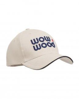 Cappellino da baseball 6 pannelli in cotone pettinato