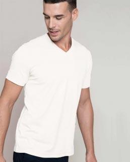 T-shirt maniche corte scollo a V