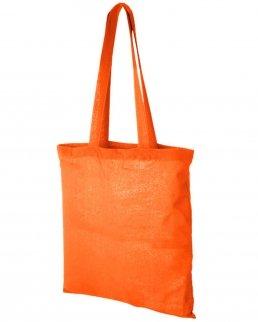 Shopper colorata in cotone manici lunghi da 140 gr