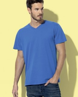 T-shirt con collo a V Classic V-neck Men