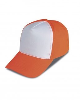 Cappellino Golf 5 pannelli bicolore