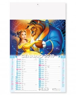 Calendario mensile Fiabe