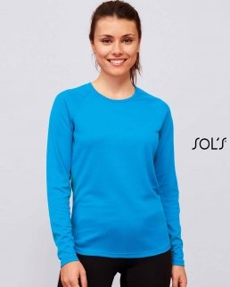 T-Shirt Sporty Donna maniche lunghe