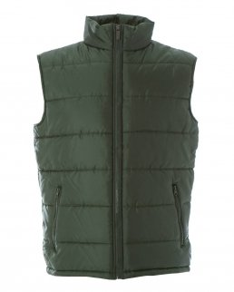 Gilet in nylon lucido impermeabile New Shanghai