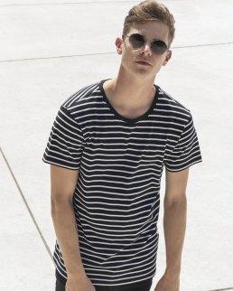T-shirt manica corta a strisce