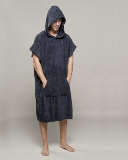 Gym Poncho in Spugna Cappuccio Kid