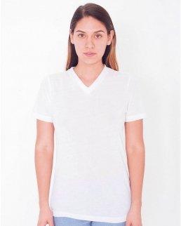 T-shirt donna scollo a V Classic Sublimazione