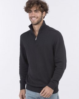 Felpa Wakhan 1/4 Zip Knit Sweater