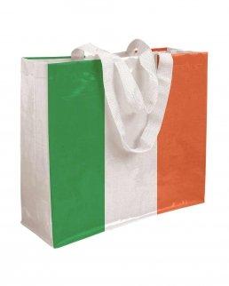 Shopper in polipropilene laminato con manici a nastro