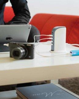 Stazione di ricarica USB da 6A