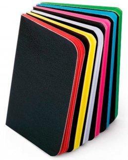 Block note con fogli colorati