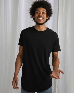 T-shirt uomo Organic Longer Length