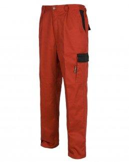 Pantalone con tasche in colore contrastante