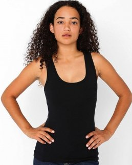 Tank Top donna Cotton Spandex